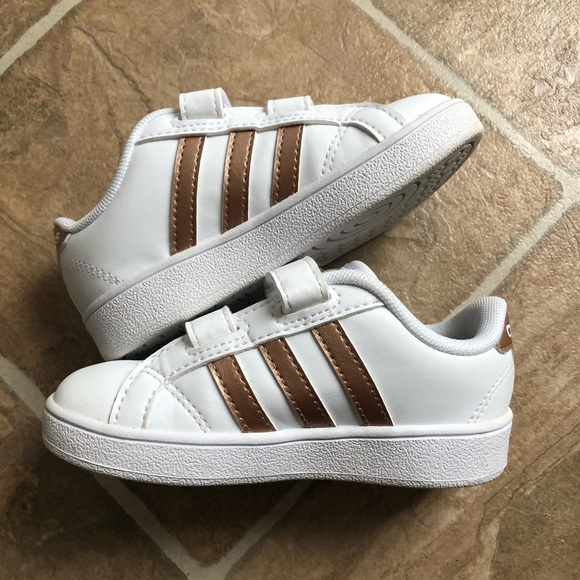 adidas grand court sneaker rose gold